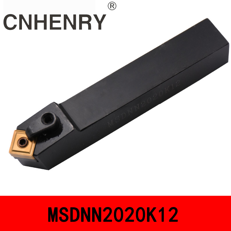 MSDNN1616H12 MSDNN2020K12 45 Degree External Turning Tool Indexable Lathe Tools Lathe Inserts Holder CNC Turning Tool