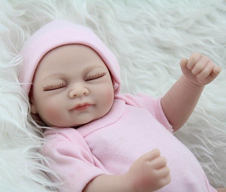 Npk Mini Reborn Baby Doll Girl 10 Quot Inch Girl Silicone Full