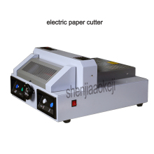 Electric paper cutting machine DC-330 desktop paper cutter machine book cutting machine, 330 mm paper trimmer 220V 550W 1PC