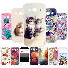 3D DIY Silicone Case For Samsung Galaxy Star Advance G350E Case Coque For Galaxy Star 2 Plus SM-G350E Cover Painted Case Fundas цена
