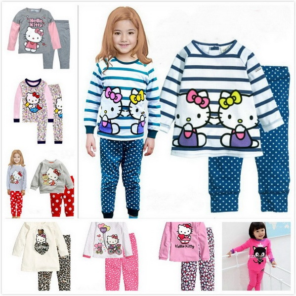 e3addc346 2 7 Years old Boys Girls Kids Pajamas set Robocar Poli Clothes Kid ...
