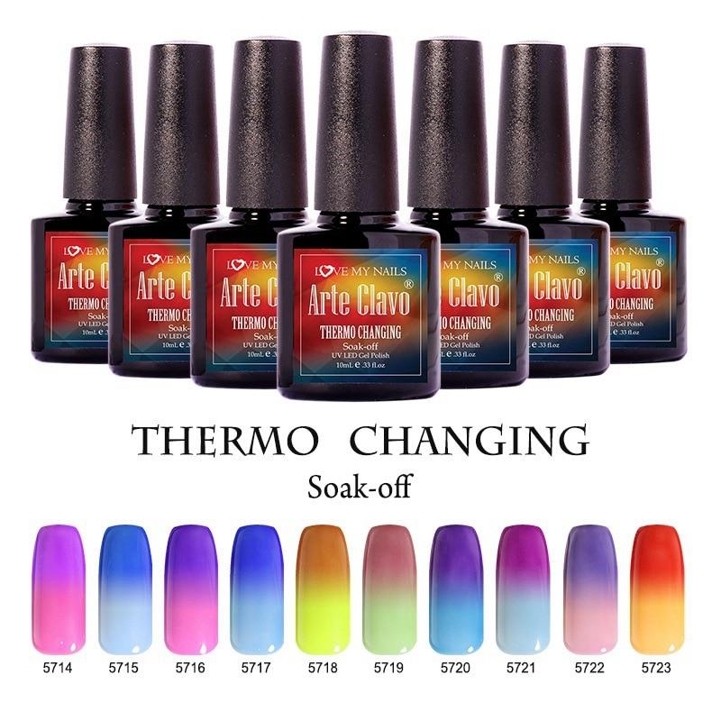 Eco Friendly 48 Colors Arte Clavo Choose 1 Piece UV Gel Nail Gel ...