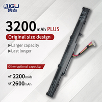 JIGU A41Lk9H A41N1501 dizüstü pil asus için N752V N752VW UX450 UX450F UX480 ZenBook Pro 14 UX450 4 hücreleri