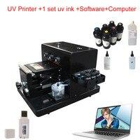 A4 UV Printer Phone Cover Printer UV Flatbed For Phone Cover Acrylic Wood Metal Glass PVC uv printing Machine
