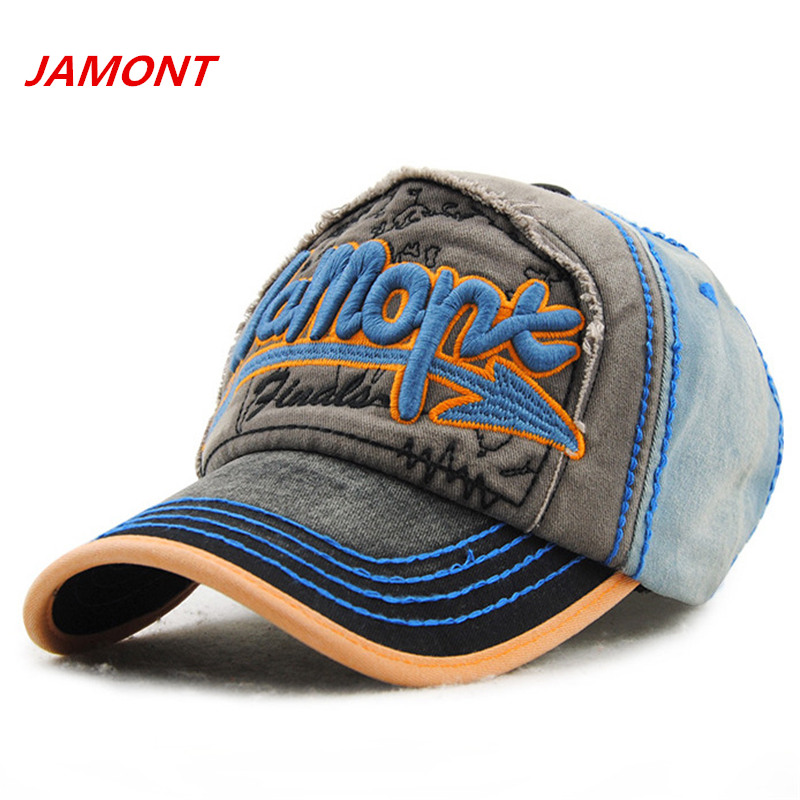 JAMONT brand 2017 unisex baseball cap men Casual Outdoor Sport Embroidery snapback Hat for women Cap female gorra casquette bone 2017 new hot brand cotton men hat baseball cap casual outdoor sports unisex snapback hats cap for men women
