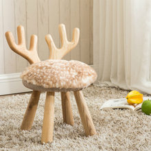Solid wood Children's Stools Children Furniture portable Stools wholesale minimalist modern style hot new fashion design 2018(China)