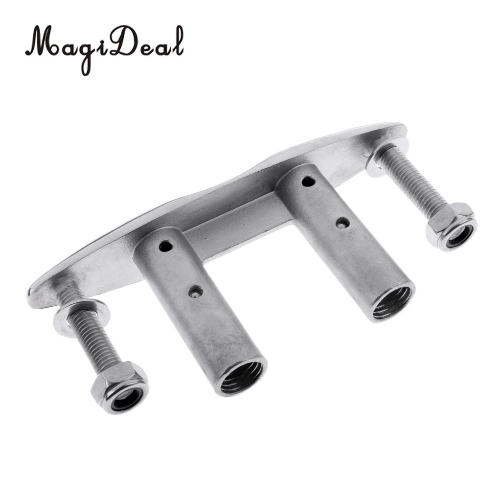 MagiDeal 8'' 316 Stainless Steel Boat Pull-Up Cleat// Pop-Up Flush Mount Lift
