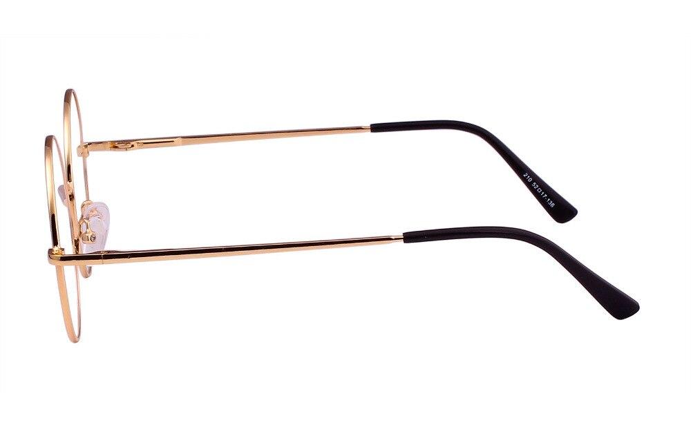 8a8cab57ec Agstum Retro Round Prescription Vintage ready Metal Eyeglasses Frame 51mm  Clear Lens RX-in Eyewear Frames from Apparel Accessories on Aliexpress.com  ...