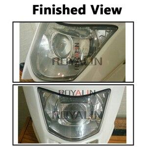 Image 5 - ROYALIN 1PCS הלוגן עדשה H1 2.0 אינץ Bi קסנון מקרן ראש אור עדשת LHD מיני זכוכית עדשה עבור H1 h4 H7 אופנוע מנורות DIY