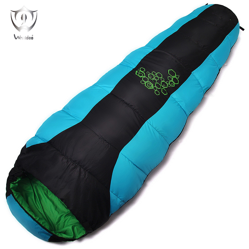 Wnnideo Thickened Cotton Sleeping Bag Warm Portable Ultralight Camping Hiking Mountaineering Outdoor Specialist for Sports professional camping gear 2 people outdoor 4 reason camping tent hiking climbing backpacking mountaineering tourism ultralight