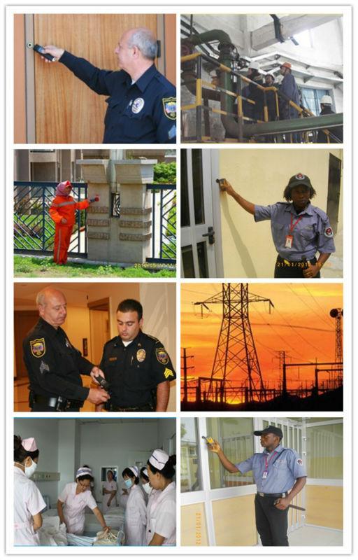 Sistema de patrulha de guarda