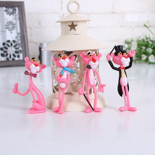 4 pz/lotto Action Figures E Giocattoli Doll Cute Decorazione Bambola Del Fumetto Giocattoli di Modello