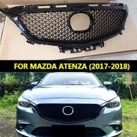 Для ATENZA Передняя гоночная решетка решетки подходит для MAZDA 6 ATENZA 2017 2018 сотовая решетка