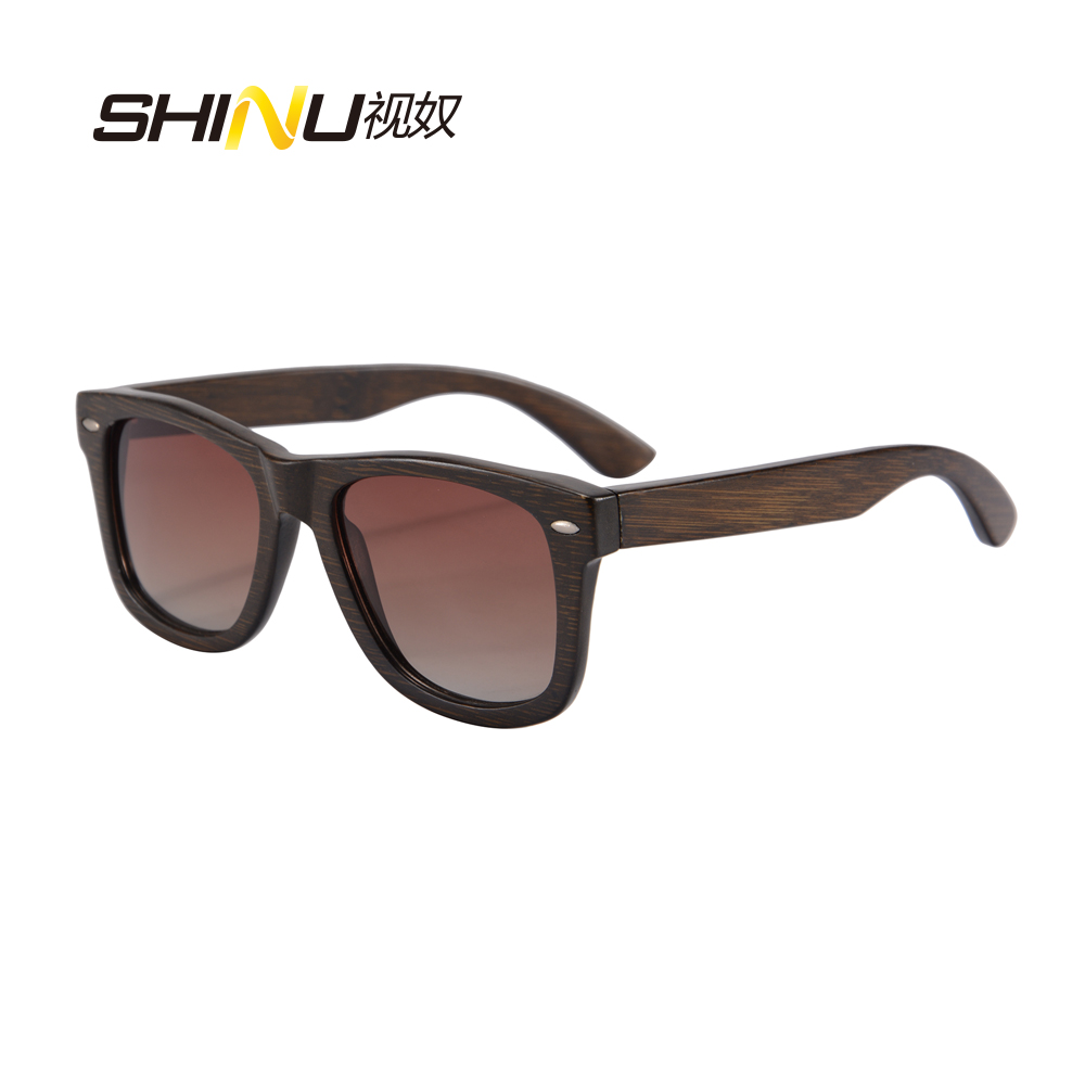 ae58373766 Retro Vintage Man Wooden Glasses Bamboo Wood Sunglasses Women Polarized  Gradient Driving Eyewear Summer Goggle Oculos De Sol6050