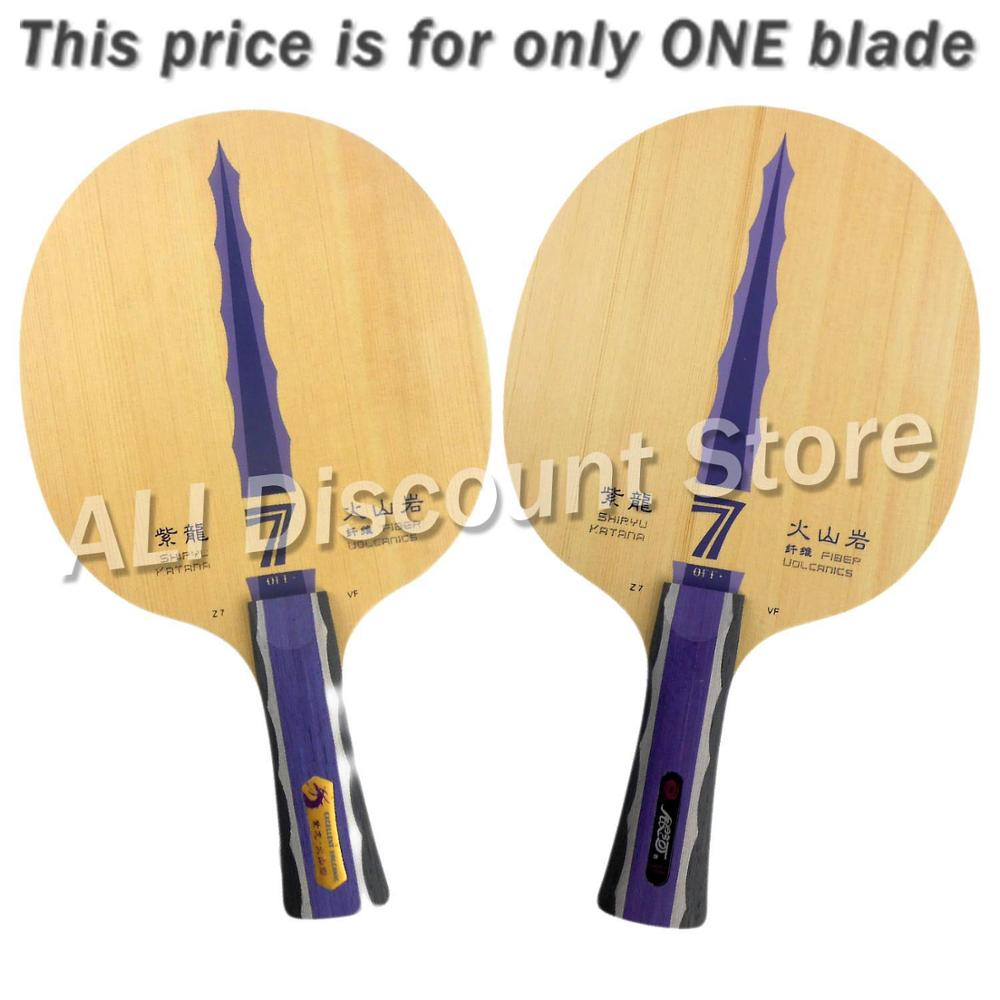 ФОТО Galaxy Milky Way Yinhe Shiryu Katana Z7.VF Volcanics Fiber Table Tennis Blade for PingPong Racket
