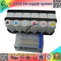 Solvent Based Roland Bulk Ink Supply System 6 color for Roland Inkjet Printing Solution