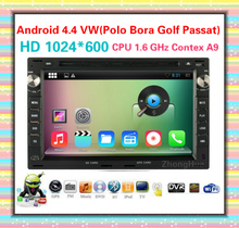 Android 4.4 HD 1024*600 1.6GHz 7″ capacitive screen Car DVD Player Navigation For VW Sharan Transporter T4 T5 Bora Lupo Chico