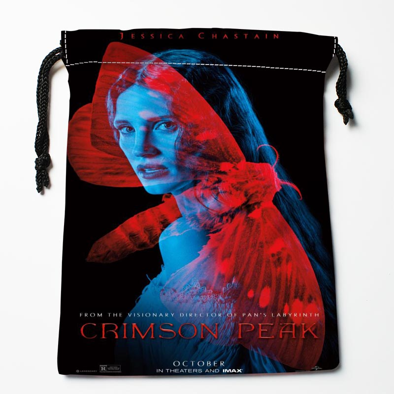 New Custom Crimson Peak Drawstring Bags Custom Storage Bags Storage Printed Gift Bags 27x35cm Compression Type Bags
