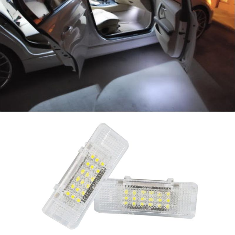 HOPSTYLING 2x Car styling super bright LED Courtesy step light For E53 X5 E39 Canbus No Error Auto accessory Automotive led