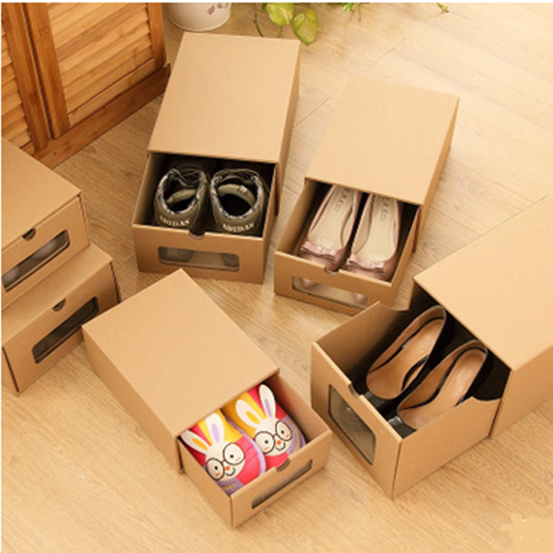 Buy 2016 new desgin 1pc lot environment for Diy shoe storage with cardboard