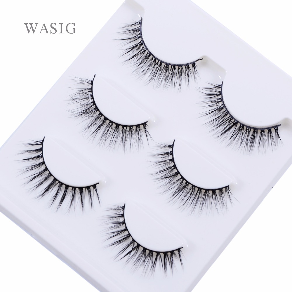 New 3 pairs natural false eyelashes fake lashes long makeup 3d mink lashes extension eyelash mink eyelashes for beauty 3D-22