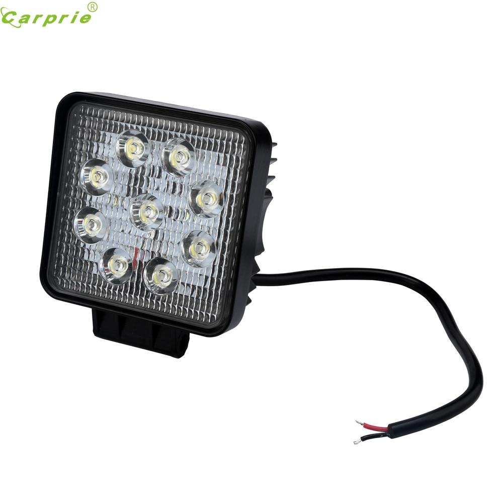ФОТО AUTO 2016 4pcs New 9W 9 LED Flood HID wheeled machine OEM Bulb Bright Auto DRL Lamp Bulb Headlight car-styling car light  jan20