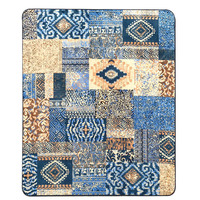 WINLIFE Mediterranean Style Home Carpets Large Area Rugs For Living Room/Tea table Decorative Rugs Washable Mats Bedside Rugs