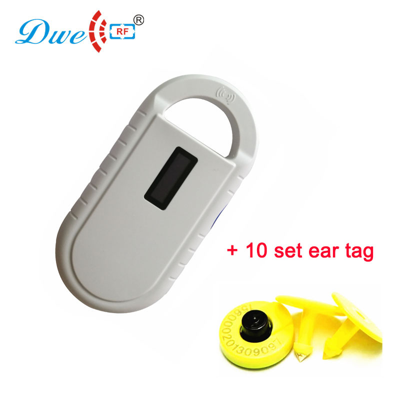 DWE CC RF RFID ISO11784/11785 fdx-b glass tag reader mini handheld 134.2khz microchip pet tracking reader купить в екатеринбурге переходник mini iso