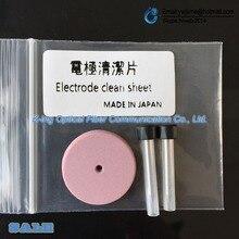 광섬유 융착 접속기 전극 깨끗한 시트 전극 연마 전극 청소