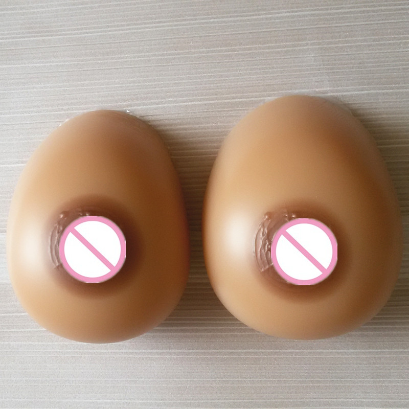 Topleeve 2000g/pair Sz 44 46  teardrop silicone breast form with strap transgender,crossdress fake breast fake boobs