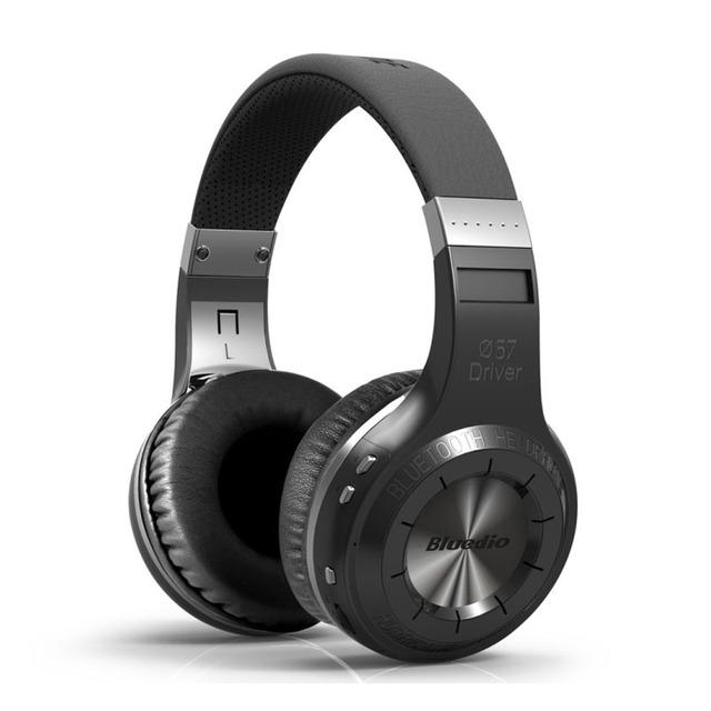 100% original bluedio ht auriculares inalámbricos bluetooth bt 4.1 versión auricular bluetooth estéreo con micrófono de manos libres de llamadas