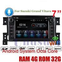 WANUSUAL Android 8.0 Car PC GPS Navigation For SUZUKI GRAND VITARA DVD Player Radio Double Din Auto CD Video Head Unit Octa Core