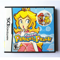 Nintendo NDS Game Super Princess Peach Video Game Cartridge Console Card US English Version With Manual