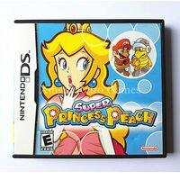Nintendo NDS Game Super Princess Peach Video Game Cartridge Console Card US Engels Versie met Handleiding Boek Retail-pakket