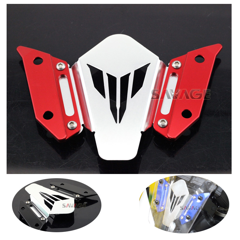 For YAMAHA FJ-09 MT-09 Tracer 2015-2016  Motorcycle CNC Aluminum Windscreen Windshield Mount Bracket for yamaha fj 09 mt 09 tracer 2015 2016 motorcycle cnc aluminum rear carrier luggage rack