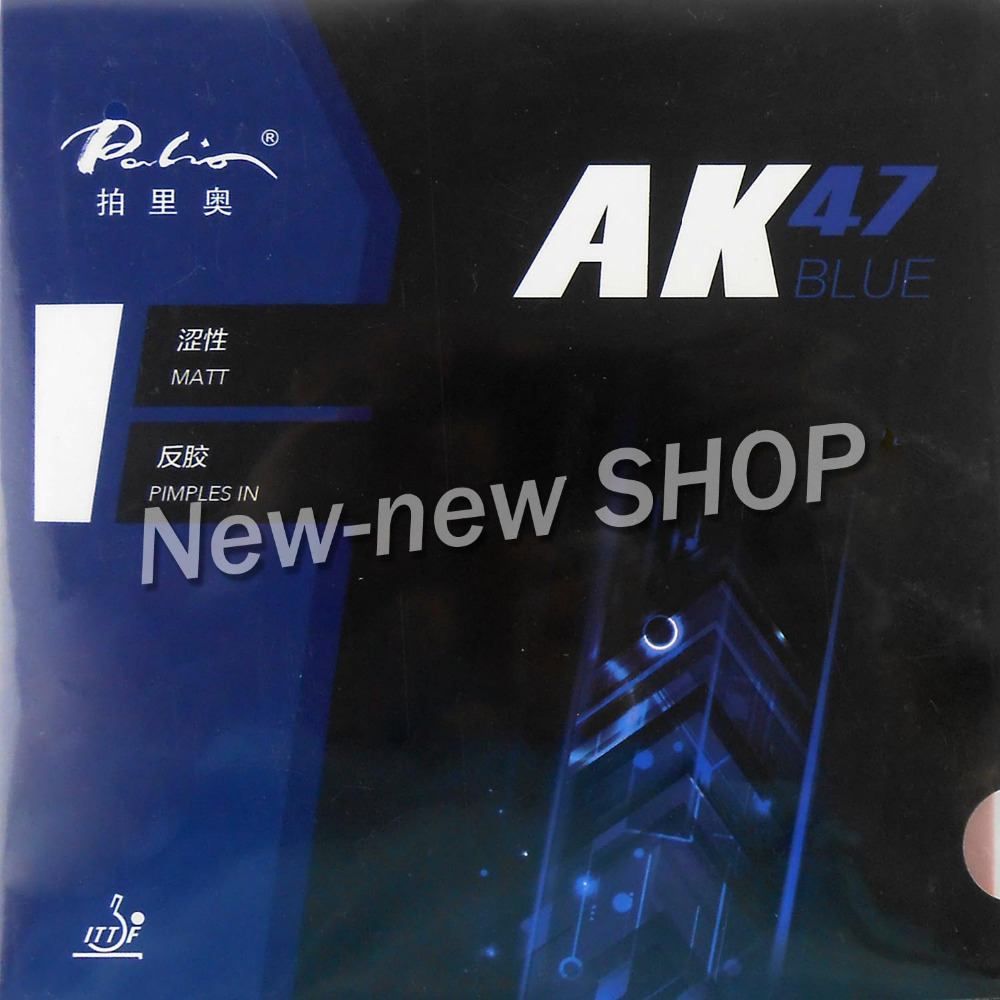 Palio AK47 AK-47 AK 47 BLUE Matt Pips-in PingPong Rubber With Sponge 2.2mm H38-40