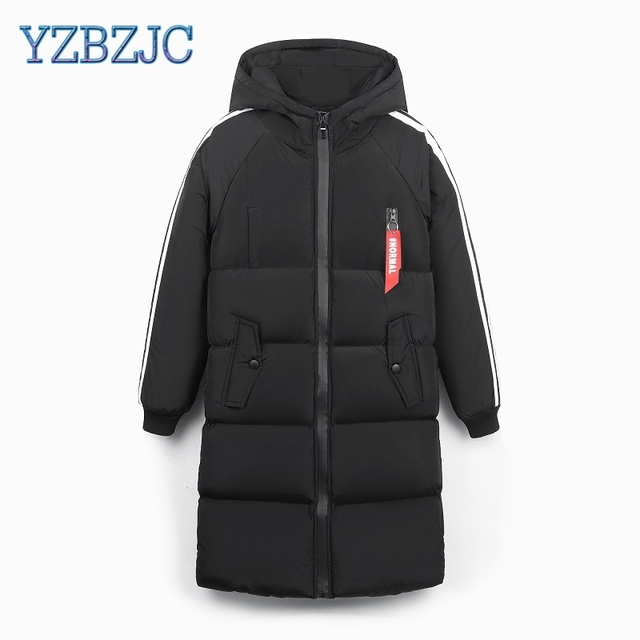 Best Offers Men clothing Parkas Fashion Winter Classic Solid Long Coat Slim Fit Cotton Padded Down Outerwear Male clothes Hooded Jacket