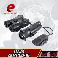 EX 179 טקטי טקטי אור לפיד אלמנט L-3 מתקדם הפנס משולב עם AN/PEQ-16A וM3X ציד טקטי פנס