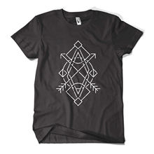 Geometry T Shirt Fashion Print Indie Hipster Urban Design Mens Girls Tee Top New T Shirts Funny Tops Tee New  free shipping girls mixed print patched tee