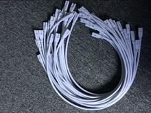 זול יותר 1ft 2ft 3ft 5ft הארכת כבל T5 T8 מחבר כבל כבל חוט עבור משולב LED נורת ניאון 50pcs DHL בחינם ספינה
