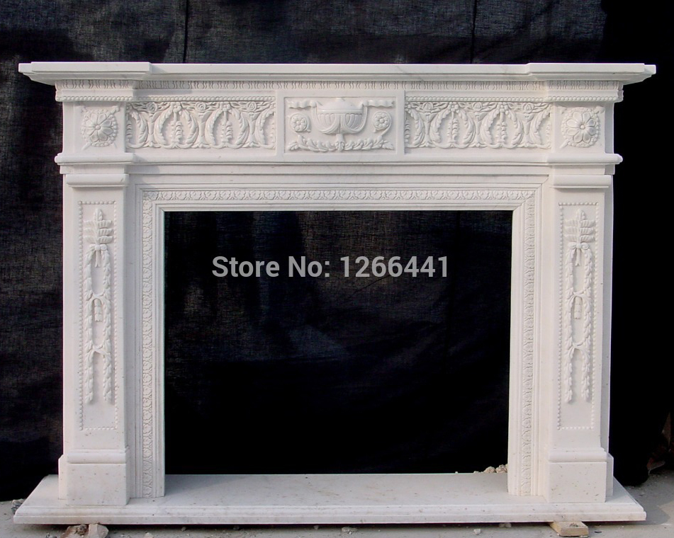Fireplace Design antique fireplace surrounds : Popular Antique Fireplace Mantel-Buy Cheap Antique Fireplace ...