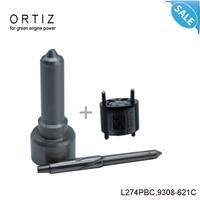 ORTIZ common rail injector tools 7135 650 Repair Kit L274PBC nozzle 9308 621C control valve 9308621C,28239294, 28440421,Original