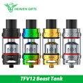 Original smok tfv12 atomizador 350 w tanque 6 ml à prova de vazamento 510 fio sub ohm tfv12 atomizador tipo a para 350 w gx350 mod/g-priv mod