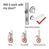 Electronic Keyless Digital Door lock Smart Remote Code Door Lock