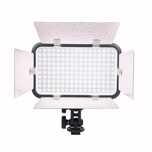 New Godox LED170 II Dimmable 5500-6500K Photo Video Lamp Light For Video Light Lamp Camera Camcorder Photo Photography 1pc 150w 220v 5500k e27 photo studio bulb video light photography daylight lamp for digital camera photography