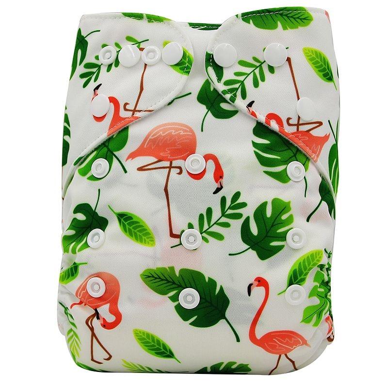 Ohbabyka, детские тканевые подгузники, многоразовые подгузники, унисекс, детские штаны для ухода за ребенком, водонепроницаемые тканевые подгузники с карманами, детские подарки для душа - Цвет: OB174