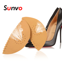 Sunvo Leather Arch Support Pads for Flat Foot Heel Orthotic Insoles Pain Relief Orthopedic Corrector Cushion Shoes Pad Inserts