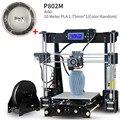 Обновленный новый металлический 3D принтер Tronxy DIY наборы прямой Экструдер 3D печать с PLA off line 8G sd-карта MK3 heatbed