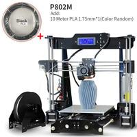 Upgrade Neue Metall 3D Drucker Tronxy DIY kits Direkt extruder 3D druck mit PLA off line 8G SD karte MK3 heatbed-in 3-D-Drucker aus Computer und Büro bei