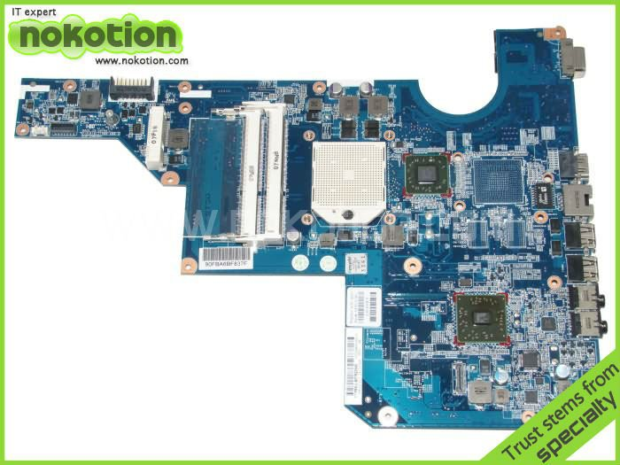 LAPTOP MOTHERBOARD for HP G62 CQ62 series 597674-001 DDR3 Mainboard free shipping for hp g62 g72 laptop motherboard with graphics 615848 001 01013y000 388 g